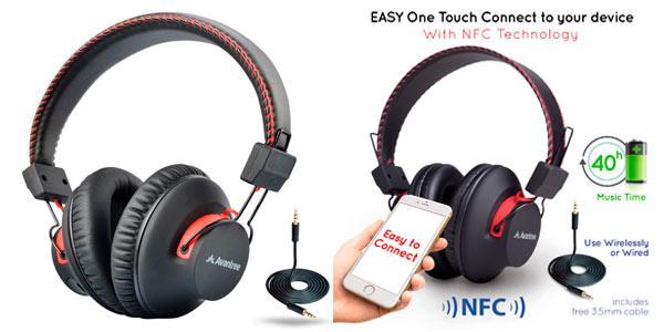 Auriculares Avantree Bluetooth NFC con cable rebajados en Oferta Flash
