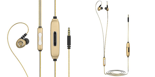 Auriculares in-ear dodocool electroluminiscentes