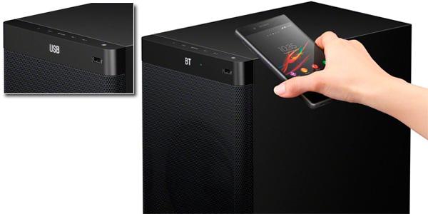 Sistema de cine en casa 5.1 Sony HTRT3 con NFC