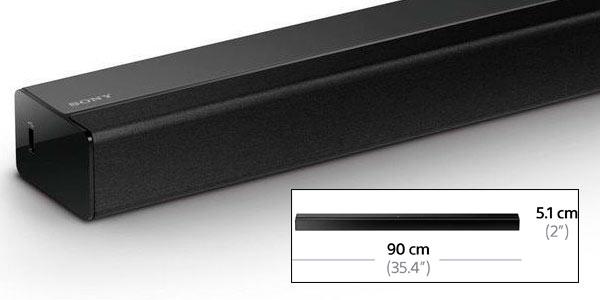 Barra de sonido Bluetooth con Subwoofer Sony HT CT80 rebajada en Amazon