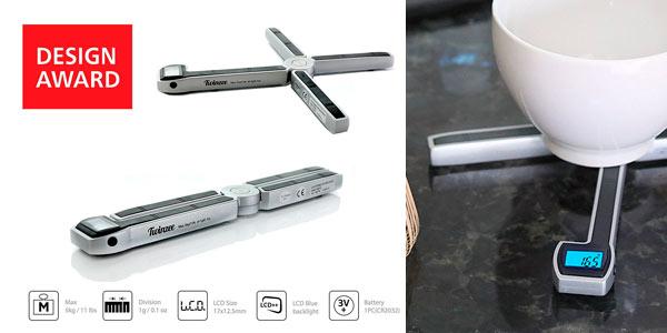 Báscula digital de cocina Twinzee de diseño en Oferta Flash de Amazon
