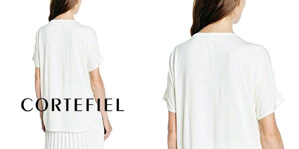 Camiseta mujer estampado Liberty de Cortefiel chollo en Amazon Moda