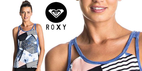 Camiseta de tirantes para mujer Ozalee de Roxy chollo en eBay