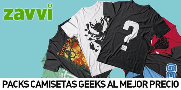 Packs camisetas Geeks en Zavvi