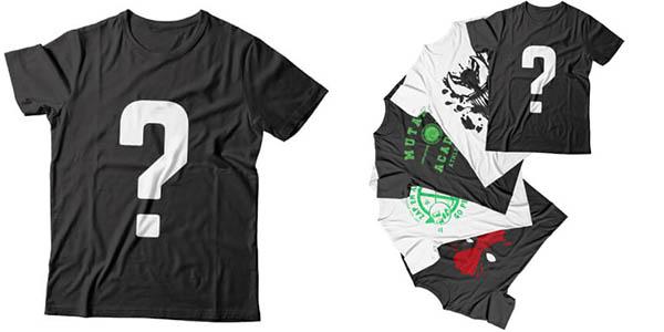 Camisetas geeks baratas