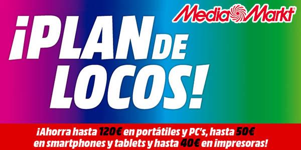 """Catálogo Media Markt """"Plan de Locos"""""""