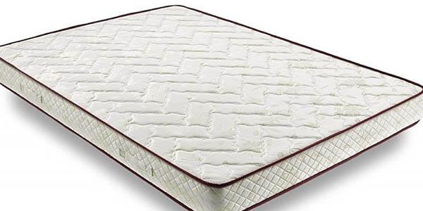 colchón alta densidad con tratamiento antiácaros ergonómico barato