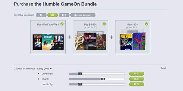 Comprar Humble GameOn Bundle