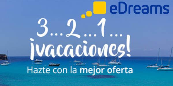 descuento promocional eDreams vacaciones verano 2017