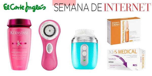 Descuentos en productos de belleza, cuidado personal y parafarmacia en EL Corte Inglés