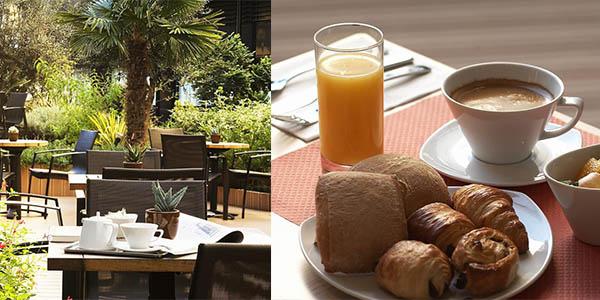 Hotel Oceania Paris Porte Versailles relación calidad-precio brutal