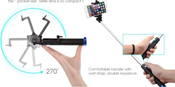 Palo de selfie iSnap X de MPow chollo en Amazon España