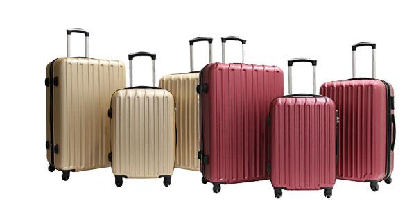 Juego de 3 maletas TROLE Alistair Secure en Amazon España