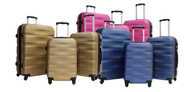 Juego de maletas ABS Trole Alistair Fly baratas en Amazon