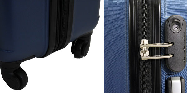 Juego de maletas ABS Trole Alistair Fly baratas en Amazon España