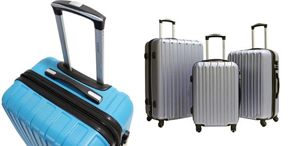 Juego de 3 maletas TROLE Alistair Secure baratas en Amazon España