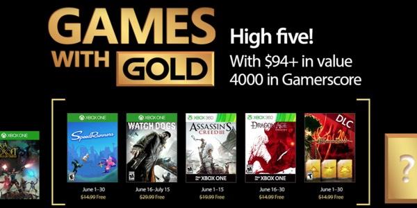 Juegos gratis con Gold junio 2017