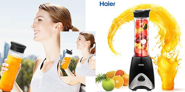 licuadora Haier HABB B0109EU vaso botella para llevar barata
