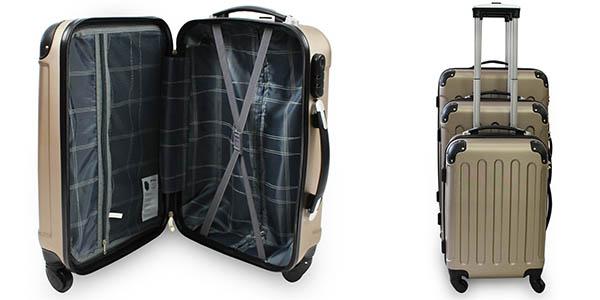 maletas ruedas plástico ABS diferentes medidas