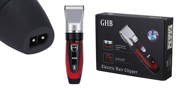 máquina cortapelos barba eléctrica GHB barata