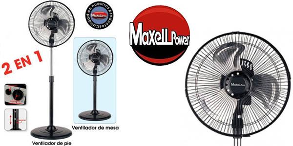 Maxell Power MP-7816 ventilador suelo y mesa relación calidad-precio brutal