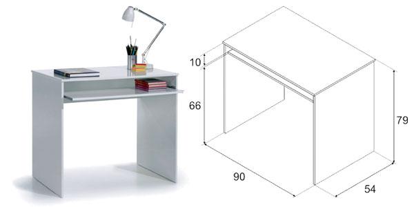 Mesa escritorio extraíble de ordenador iJoy de Due Home barata en eBay