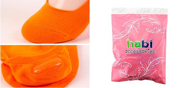 Pack de 10 pares de calcetines Pinkies de colores rebajados en Amazon
