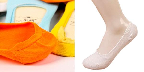 Pack de 10 pares de calcetines pinkies rebajados en Amazon