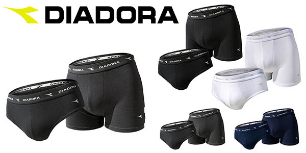 pack 4 bóxers o slips Diadora baratos