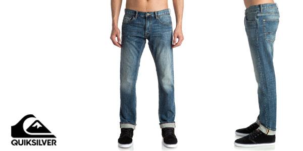 Pantalones vaqueros Revolver Medium Blue de Quiksilver baratos en eBay