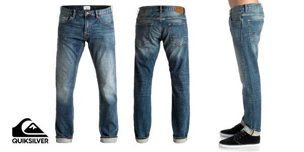 Pantalones vaqueros Revolver Medium Blue de Quiksilver chollazo en eBay