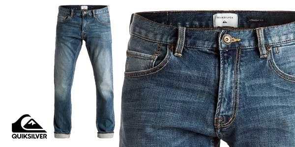 Pantalones vaqueros Revolver Medium Blue de Quiksilver chollo en eBay