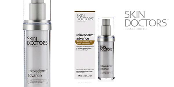 Crema antiedad Relaxaderm Advance de Skin Doctors barata en Amazon España