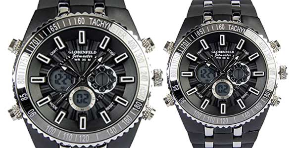 Reloj deportivo para hombre Globenfeld Jetmaster barato en Amazon