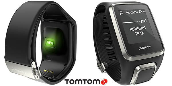 Reloj deportivo TomTom Spark Cardio + Music Premium