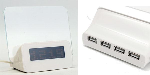 Reloj despertador digital multifunción Baban barato en Amazon