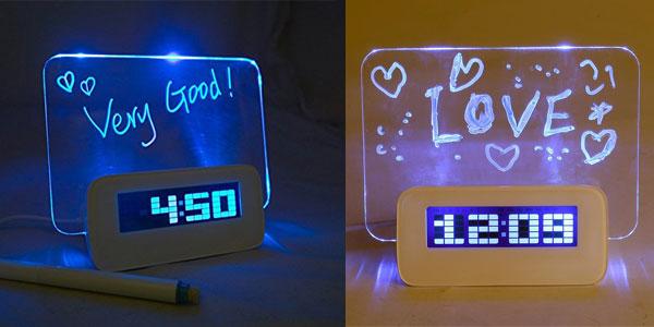 Reloj despertador digital multifunción Baban chollo en Amazon