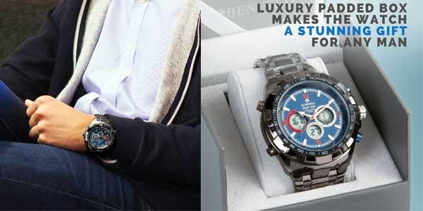 Reloj Globenfeld Super Sport para hombre barato en Amazon