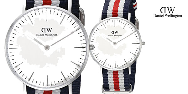 Reloj unisex Canterbury de Daniel Wellington chollo en Amazon España