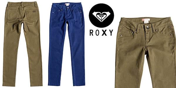Roxy Tracy's water vaqueros pitillo chica baratos