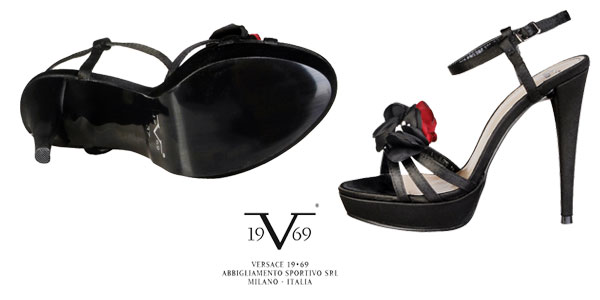 Sandalias de tacón para mujer Vinciane de Versace 19.69 baratas en eBay
