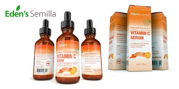 Serum Eden's Semilla con vitamina C y retinol chollo en Amazon