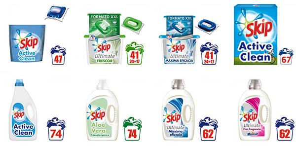 Skip Ultimate Active Clean líquido cápsulas ofertas