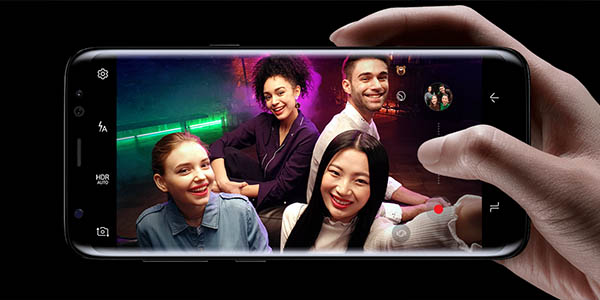 Samsung Galaxy S8 Plus con pantalla infinita