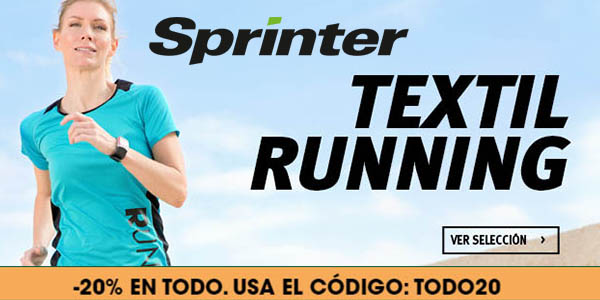 sprinter cupón descuento TODO20 mayo 2017