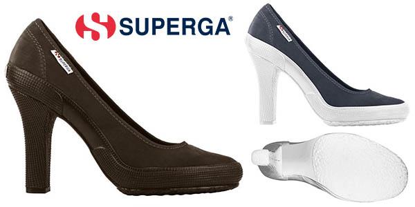 Superga High Heel zapatos para mujer oferta