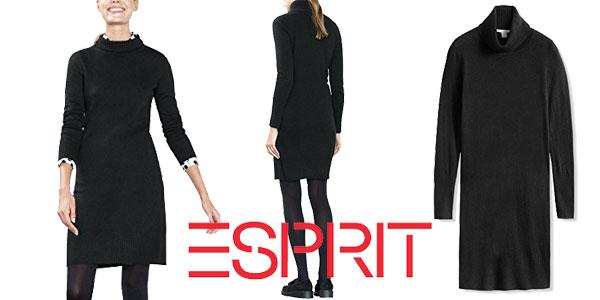 Vestido negro Esprit barato en Amazon