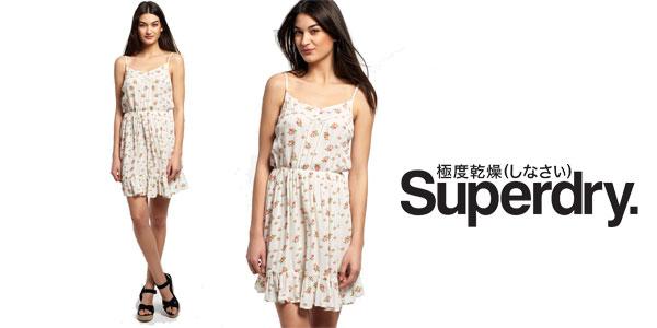 Vestido de verano para mujer Summer Girl Vintage Rose Bud de Superdry chollazo en eBay