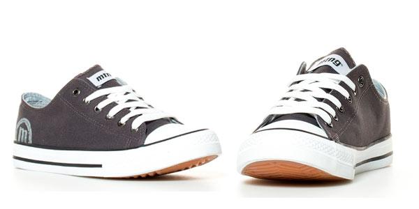 Zapatillas Mustang Trend Low II grises rebajadas en eBay Esdemarca