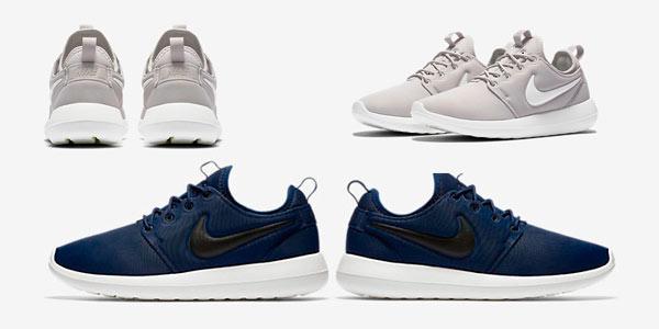 Zapatillas Nike Roshe Two ligeras rebajadas a mitad de precio por tiempo limitado